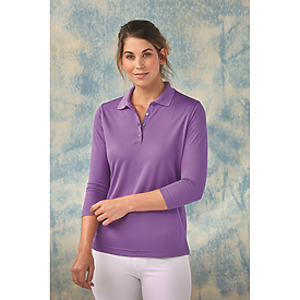 Paragon Ladies Palm 3/4 Sleeve Performance Polo