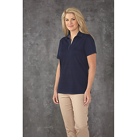 Paragon Ladies Memphis Sueded Performance Polo