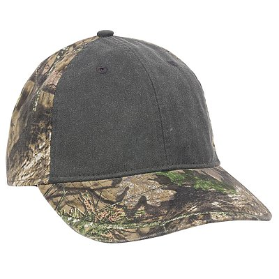 OUTDOOR CAP Washed Pigment dyed with Camo