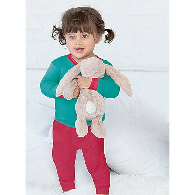 Rabbit Skins Infant Baby Rib Pajama Pant
