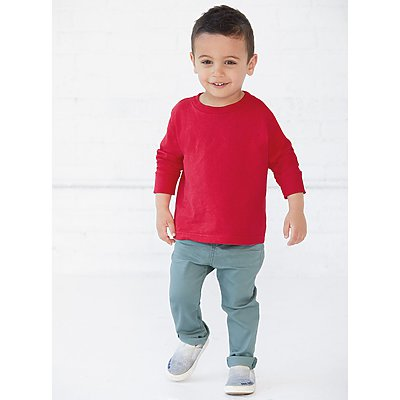 Rabbit Skins Toddler Long Sleeve T-Shirt
