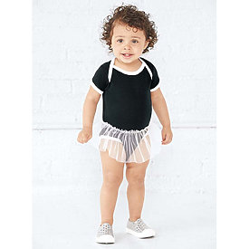 Rabbit Skins Infant Tutu Bodysuit