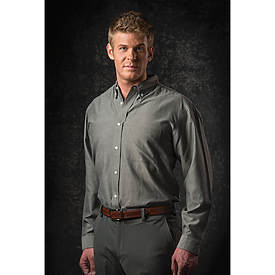 Sierra Pacific L/S Tall Performance Teflon Oxford