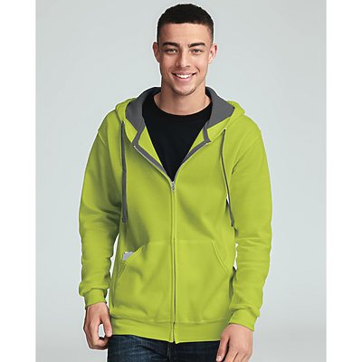 Fruit of the Loom 7.2oz Sofspun Zipper Hooded Sweat