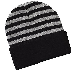 "Sportsman Cap ""12"""" Striped Knit Cap"""