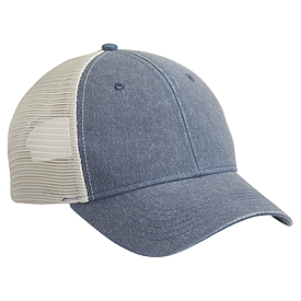 Sportsman Cap Pigment Dyed Structured Trucker Cap