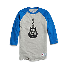 Champion 5.2oz 100% Raglan Baseball T