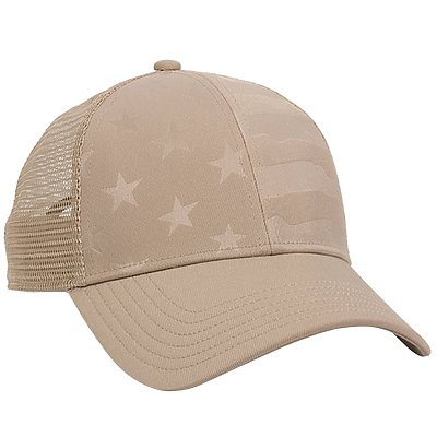 OUTDOOR CAP Debossed Stars and Stripes
