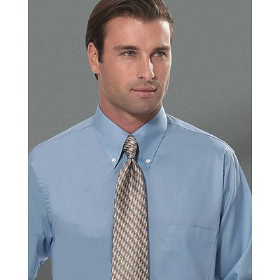 Van Heusen 3.4oz Silky Poplin L/S Dress Shirt