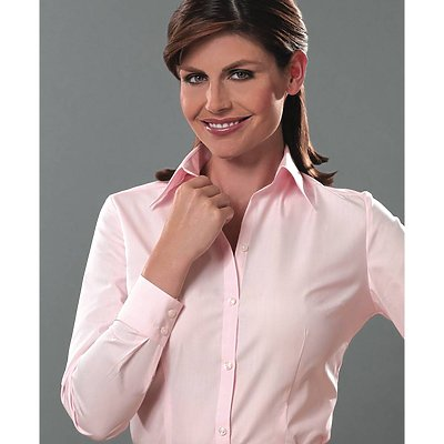 Van Heusen 3.4oz Ladies Silky Poplin Dress Shirt