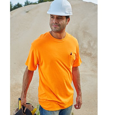 Hanes Workwear Short Sleeve Pocket T