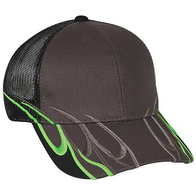 OUTDOOR CAP Flame Trucker Cap