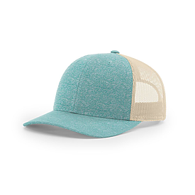Richardson Caps Heathered Low Pro Trucker Cap