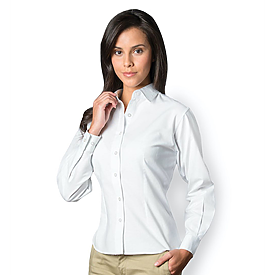 Sierra Pacific Ladies L/S Teflon Oxford