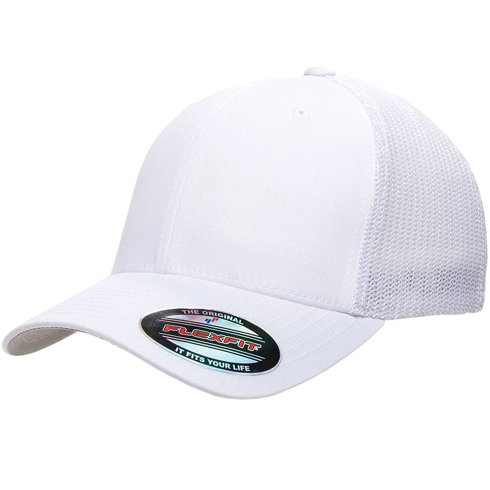098cbf24 FLEXFIT Trucker Mesh Back Cap | Carolina-Made